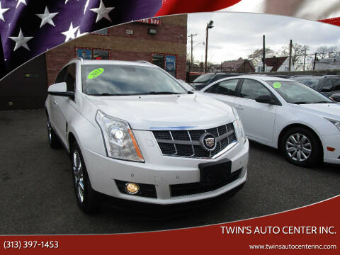 2012 Cadillac SRX for sale at Twin's Auto Center Inc. in Detroit MI