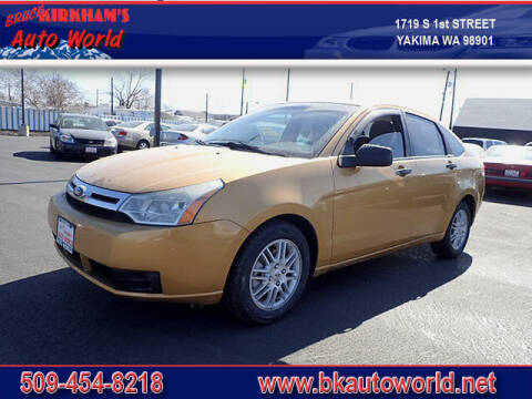 2009 Ford Focus for sale at Bruce Kirkham Auto World in Yakima WA