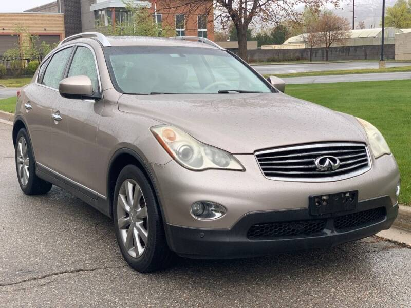 2010 Infiniti EX35 for sale at A.I. Monroe Auto Sales in Bountiful UT