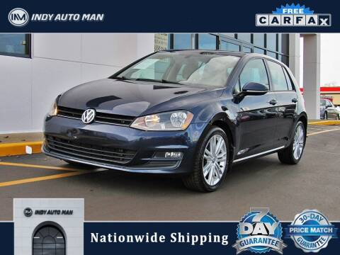 2015 Volkswagen Golf for sale at INDY AUTO MAN in Indianapolis IN