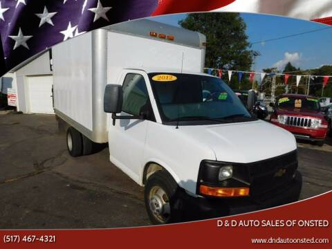 2012 Chevrolet Express Cutaway for sale at D & D Auto Sales Of Onsted in Onsted   Brooklyn MI