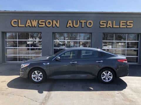 2016 Kia Optima for sale at Clawson Auto Sales in Clawson MI