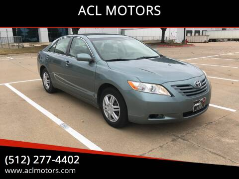 2007 Toyota Camry for sale at ACL MOTORS in Austin TX