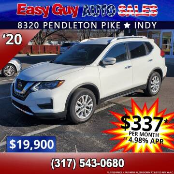 2020 Nissan Rogue for sale at Easy Guy Auto Sales in Indianapolis IN