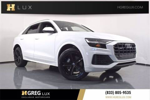 2019 Audi Q8 for sale at HGREG LUX EXCLUSIVE MOTORCARS in Pompano Beach FL
