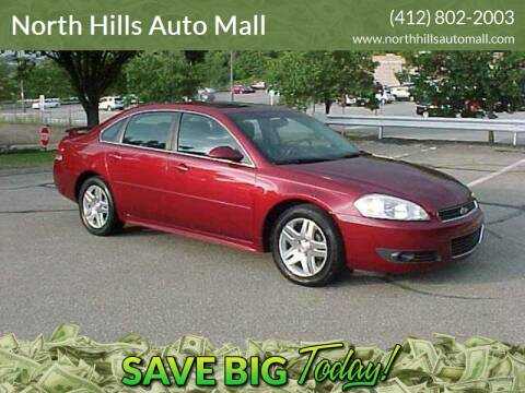 2011 Chevrolet Impala for sale at North Hills Auto Mall in Pittsburgh PA
