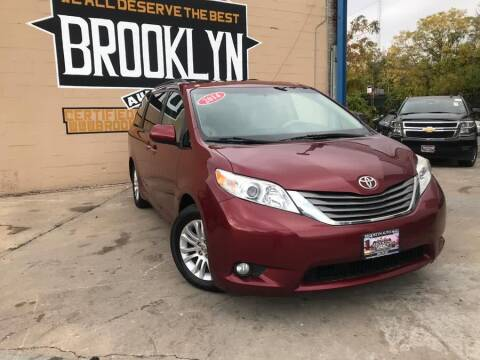 2014 Toyota Sienna for sale at Excellence Auto Trade 1 Corp in Brooklyn NY