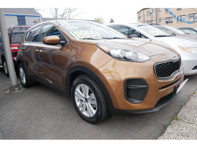 2018 Kia Sportage for sale at M & R Auto Sales INC. in North Plainfield NJ