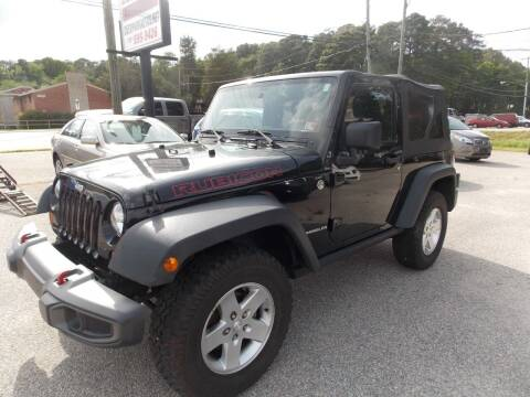 2011 Jeep Wrangler for sale at Deer Park Auto Sales Corp in Newport News VA