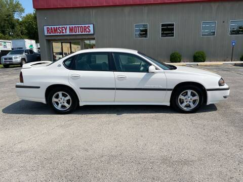 2003 Chevrolet Impala for sale at Ramsey Motors in Riverside MO