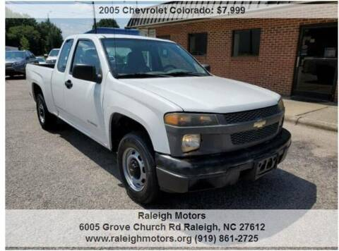 2005 Chevrolet Colorado for sale at Raleigh Motors in Raleigh NC
