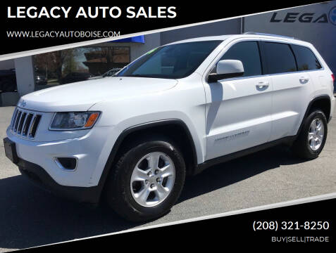 2014 Jeep Grand Cherokee for sale at LEGACY AUTO SALES in Boise ID