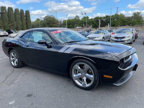 2013 Dodge Challenger for sale at Blue Diamond Auto Sales in Ceres CA