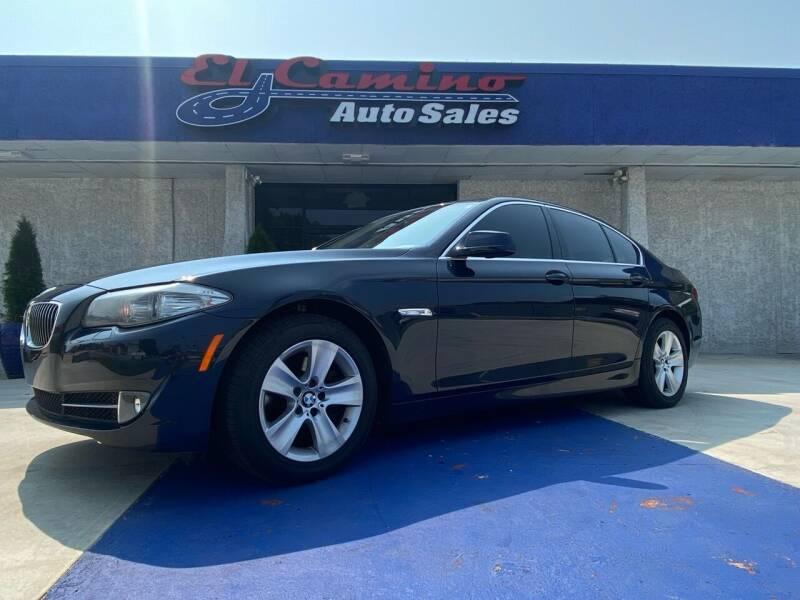 2011 BMW 5 Series for sale at El Camino Auto Sales in Gainesville GA