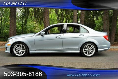 2013 Mercedes-Benz C-Class for sale at LOT 99 LLC in Milwaukie OR