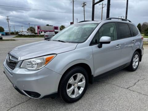 2015 Subaru Forester for sale at Modern Automotive in Boiling Springs SC