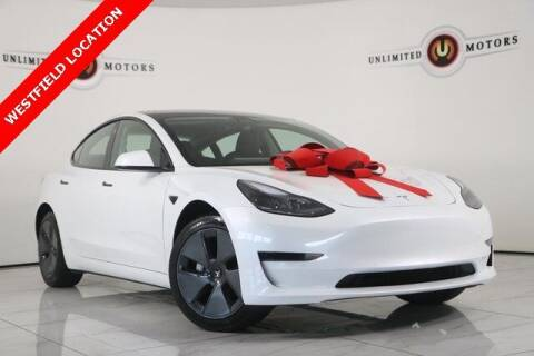 2021 Tesla Model 3 for sale at INDY'S UNLIMITED MOTORS - UNLIMITED MOTORS in Westfield IN