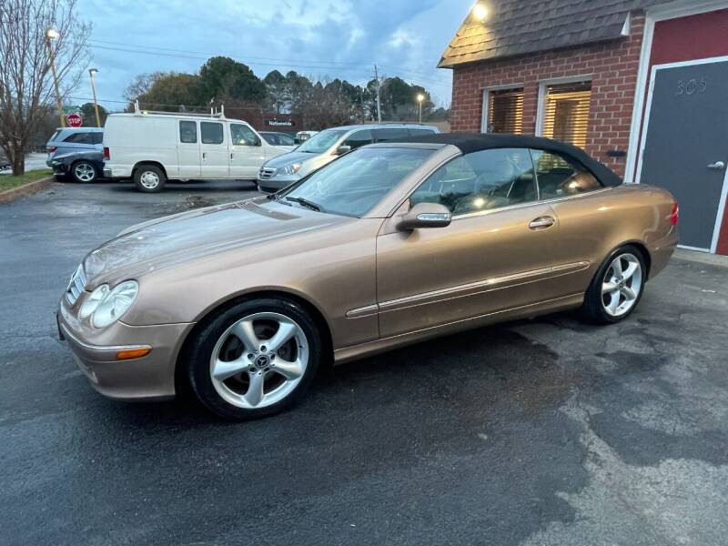 2005 Mercedes-Benz CLK for sale at AP Automotive in Cary NC