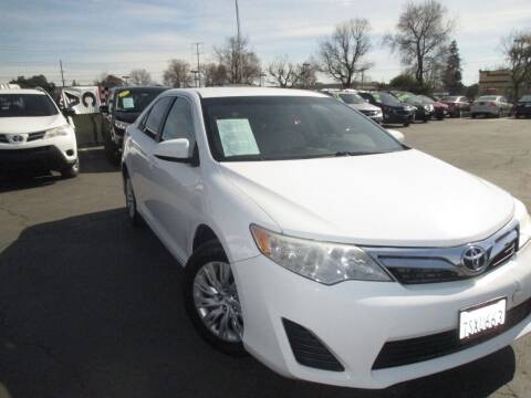 2014 Toyota Camry for sale at Quick Auto Sales in Modesto CA