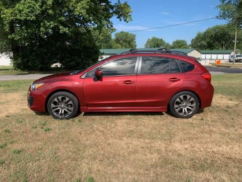 2014 Subaru Impreza for sale at Velp Avenue Motors LLC in Green Bay WI