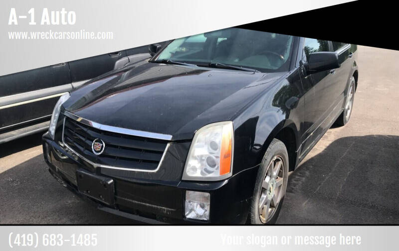 2004 Cadillac SRX for sale at A-1 Auto in Crestline OH