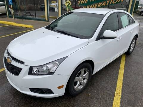 2012 Chevrolet Cruze for sale at RPM AUTO SALES in Lansing MI