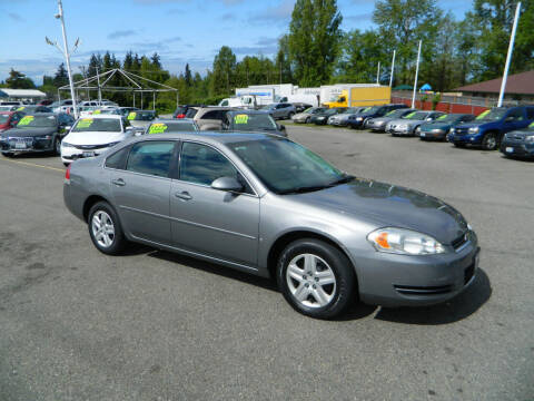 2006 Chevrolet Impala for sale at J & R Motorsports in Lynnwood WA