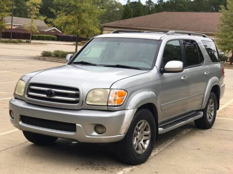 2003 Toyota Sequoia for sale at Two Brothers Auto Sales in Loganville GA