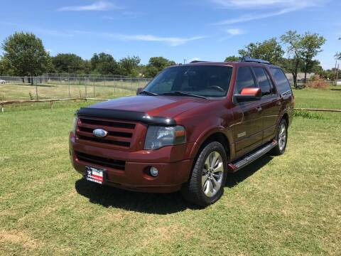 2007 Ford Expedition for sale at LA PULGA DE AUTOS in Dallas TX