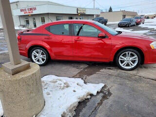 2013 Dodge Avenger for sale at Bruce Kunesh Auto Sales Inc in Defiance OH
