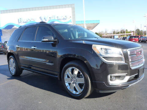 2013 GMC Acadia for sale at RUSTY WALLACE HONDA in Knoxville TN
