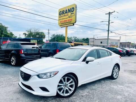 2016 Mazda MAZDA6 for sale at Grand Auto Sales in Tampa FL