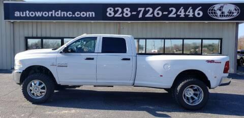 2015 RAM Ram Pickup 3500 for sale at AutoWorld of Lenoir in Lenoir NC