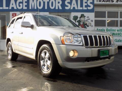2007 Jeep Grand Cherokee for sale at Village Motor Sales in Buffalo NY