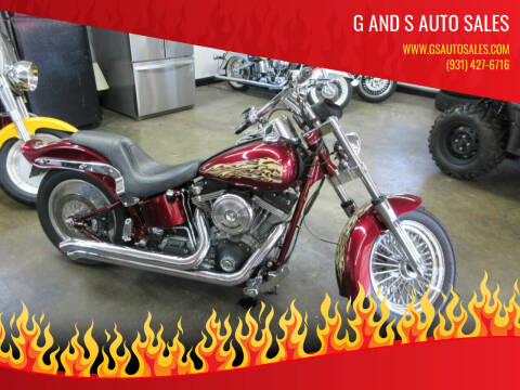 2001 HARLEY DAVIDSON SOFTTAIL for sale at G and S Auto Sales in Ardmore TN