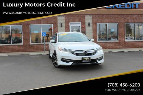 2017 Honda Accord for sale at Luxury Motors Credit Inc in Bridgeview IL