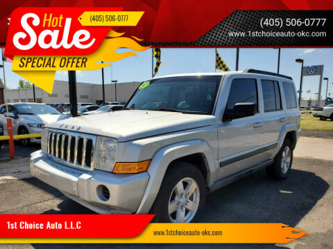 2007 Jeep Commander for sale at 1st Choice Auto L.L.C in Oklahoma City OK