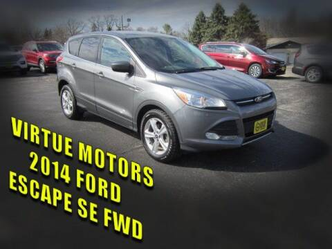 2014 Ford Escape for sale at Virtue Motors in Darlington WI