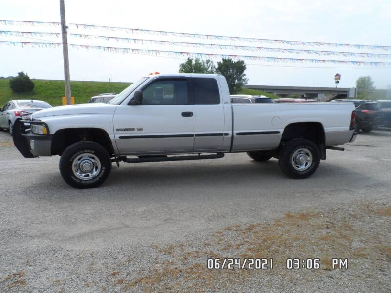 1999 Dodge Ram Pickup 2500 for sale at Town and Country Motors in Warsaw MO