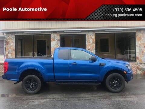 2019 Ford Ranger for sale at Poole Automotive in Laurinburg NC