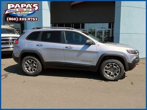 2021 Jeep Cherokee for sale at Papas Chrysler Dodge Jeep Ram in New Britain CT