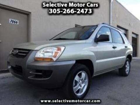 2007 Kia Sportage for sale at Selective Motor Cars in Miami FL