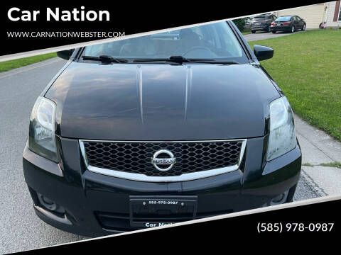 2012 Nissan Sentra for sale at Car Nation in Webster NY