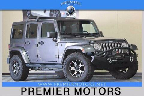 2018 Jeep Wrangler JK Unlimited for sale at Premier Motors in Hayward CA