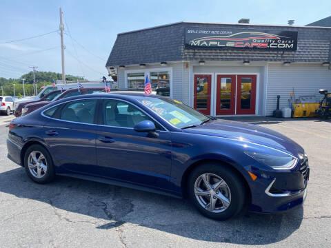 2020 Hyundai Sonata for sale at Maple Street Auto Center in Marlborough MA