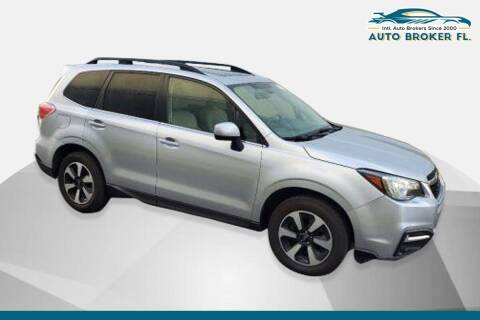 2017 Subaru Forester for sale at INTERNATIONAL AUTO BROKERS INC in Hollywood FL
