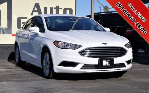 2018 Ford Fusion for sale at H1 Auto Group in Sacramento CA