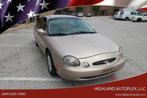 1998 Ford Taurus for sale at Highland Autoplex, LLC in Dallas TX