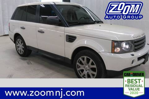 2009 Land Rover Range Rover Sport for sale at Zoom Auto Group in Parsippany NJ