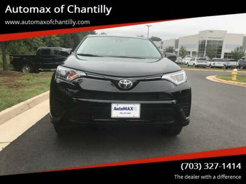 2018 Toyota RAV4 for sale at Automax of Chantilly in Chantilly VA